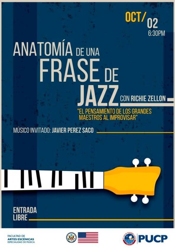 Anatomía De Una Frase De Jazz Pucp Facultad De Artes