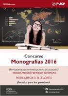 Afiche Monografías 2016