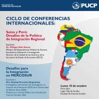 Ciclo conferencias internacionales octubre 2016